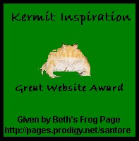 frog awards, spiritual awards, frog awards, site of the day, frog site, frog site of the day